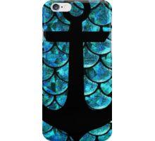 Mermaid anchor  iPhone Case/Skin