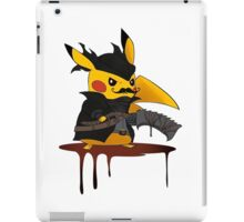 pokemon bloodborne iPad Case/Skin