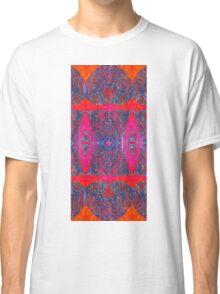 Cool Patterns on Hot Hues Classic T-Shirt