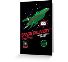 Space Delivery Greeting Card