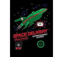 Space Delivery Photographic Print