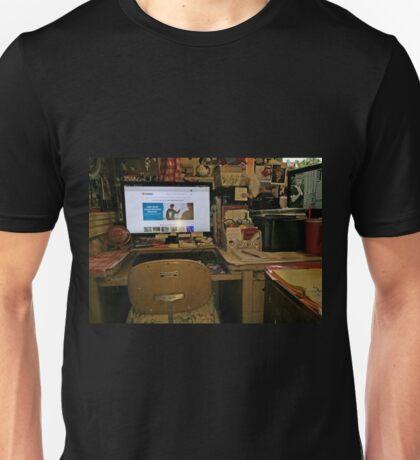 My Computer Heaven...(or Hell, depending...) Unisex T-Shirt