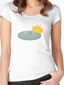 UNBEARABLE Women's Fitted Scoop T-Shirt