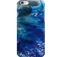 Girl lost in the the sea iPhone Case/Skin