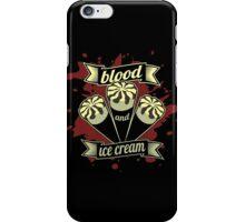 Blood & Ice Cream - Variant iPhone Case/Skin