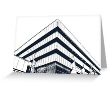 Birmingham Old Library Greeting Card