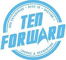 Ten Forward Photographic Print