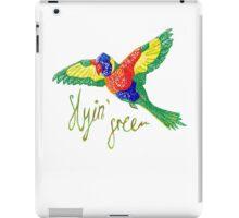 Flying Free iPad Case/Skin