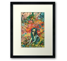 Orange Elf Framed Print
