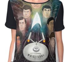 To Boldly Go Chiffon Top