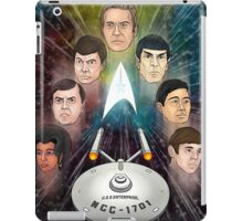 To Boldly Go iPad Case/Skin