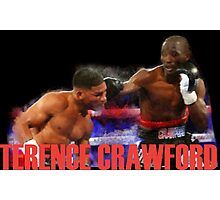 Terence Crawford champions Photographic Print