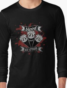 Blood & Ice Cream - Silver Variant Long Sleeve T-Shirt