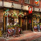 City - Boston MA - The Green Dragon Tavern by Mike  Savad