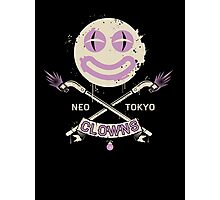 Neo Tokyo Clowns Photographic Print