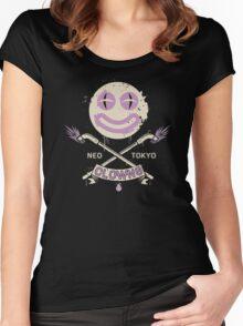 Neo Tokyo Clowns Women's Fitted Scoop T-Shirt