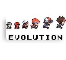 Pokemon evolution - Classic Canvas Print
