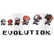 Pokemon evolution - Classic Poster