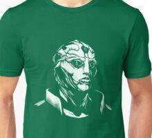 Thane - Mass Effect - White Unisex T-Shirt