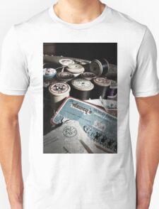 Vintage sewing kit Unisex T-Shirt