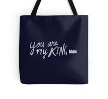 You Are My King x Navy Tote Bag