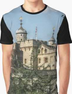 Tower of London from the Bus Graphic T-Shirt