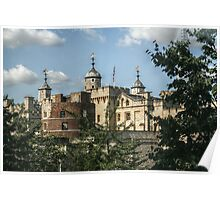 Tower of London from the Bus Poster