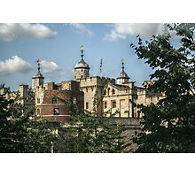 Tower of London from the Bus Photographic Print