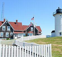 Nobska Lighthouse - Woods Hole - Massachusetts - USA by MotherNature