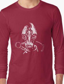 Mordin - Mass Effect - White Long Sleeve T-Shirt