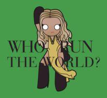 run the world Kids Clothes