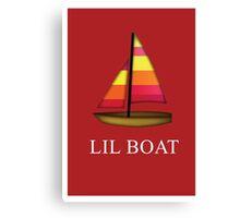 Lil Boat emoji Canvas Print