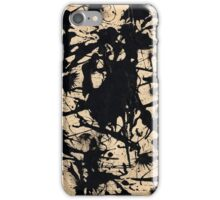 In the style of Jackson Pollock - 1 iPhone Case/Skin
