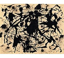 In the style of Jackson Pollock - 1 Photographic Print