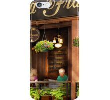 City - Boston MA - Villa Francesca iPhone Case/Skin