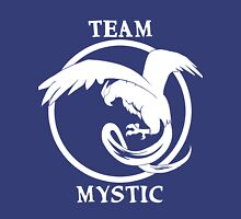 Team Mystic Logo White Unisex T-Shirt
