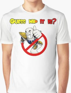 Guess who it is? Graphic T-Shirt