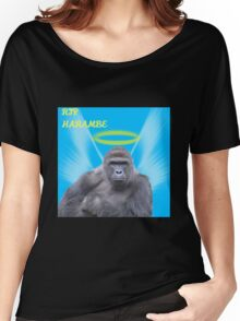 RIP Harambe  Women's Relaxed Fit T-Shirt