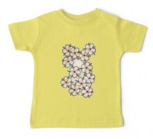 """""""Blossoms"""" Peach. Baby Tee"""