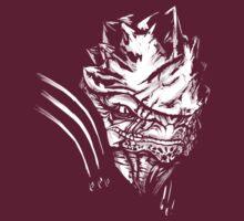 Wrex - Mass Effect - White by Tex Minos