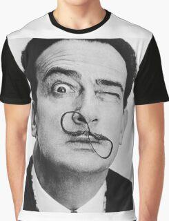 avida dollar = Salvador Dali portrait - 1 figure face Graphic T-Shirt