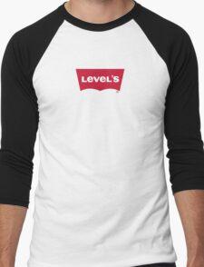 Level's Levi's play on word logo Men's Baseball ¾ T-Shirt