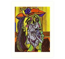In the style of pablo picasso - 1 Art Print