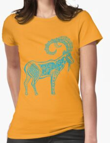 Capricorn astrology sign Womens Fitted T-Shirt