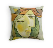 In the style of pablo picasso - 2 Throw Pillow