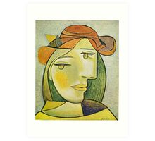 In the style of pablo picasso - 2 Art Print