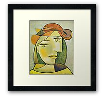 In the style of pablo picasso - 2 Framed Print