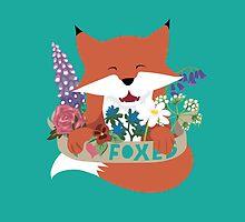 I Love Foxes by Tegan  Crocker