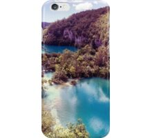 Vintage Plitvice Lakes iPhone Case/Skin