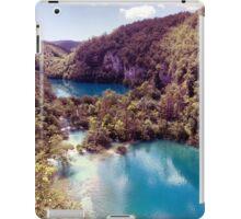 Vintage Plitvice Lakes iPad Case/Skin